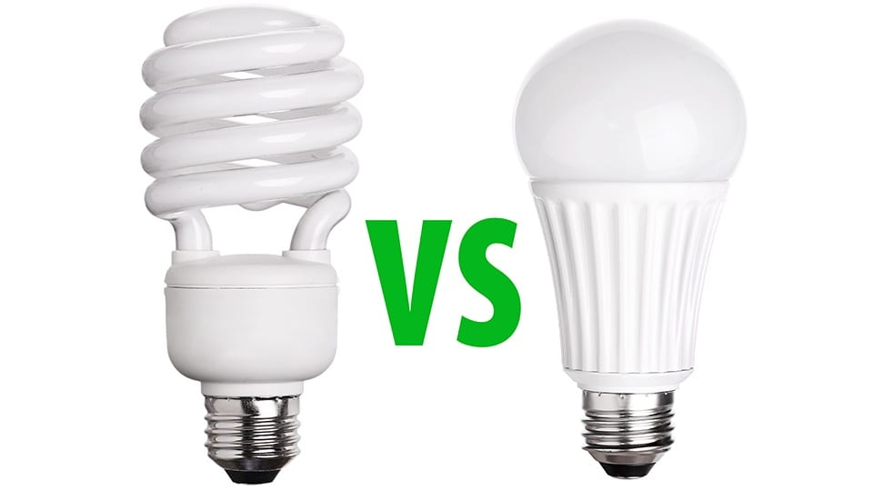 LED Lighting vs Compact Fluorescent - Energy Saving LED Light Bulbs - LED L from Victory Lights | Raleigh, NC & Nashville, TN